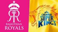 CSK vs RR, 12th Match: संजू सॅमसनने टॉस जिंकला, राजस्थान रॉयल करणार प्रथम गोलंदाजी