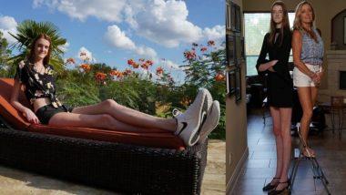 World's Longest Legs: अमेरिकेची 17 वर्षीय Maci Currin बनली जगातील सर्वात लांब पाय असणारी महिला; Guinness World Records मध्ये नाव समाविष्ट (See Photos)
