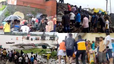Pandharpur Wall Collapsed: मुसळधार पावसामुळे पंढरपूर येथील कुंभारघाटाची भिंत कोसळली; 6 जणांचा मृत्यू, बचावकार्य सुरु