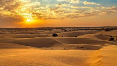 River in Thar Desert: संशोधकांनी तब्बल 172 वर्षांपूर्वी थार वाळवंटात वाहणाऱ्या नदीचा शोध लावला; या क्षेत्रात नद्यांचे दाट जाळे वाहत असल्याचा दावा