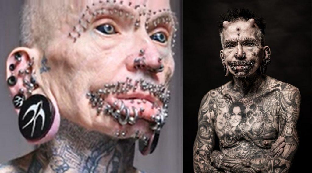 Most Body Modifications: 453 पिअर्सिंग आणि शरीरभर टॅटू असलेल्या Rolf Buchholz ने नाव Guinness World Record मध्ये समाविष्ट, Watch Video