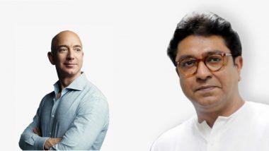 Amazon Responds To MNS: मनसे ठाम! अॅमेझॉन कंपनी संस्थापक जेफ बेजॉस यांनीही घेतली दखल
