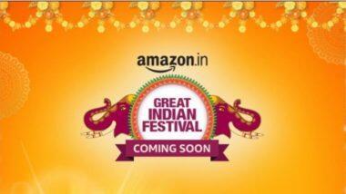 Amazon Great Indian Festival Sale 2020: अॅमेझॉन ग्रेट इंडियन फेस्टिवल सेल 17 ऑक्टोबर पासून सुरु; इथे पहा ऑफर्सची संपूर्ण यादी