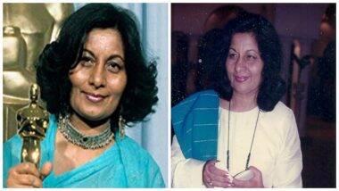 Bhanu Athaiya Passes Away: भारताच्या पहिल्या ऑस्कर पुरस्कार विजेत्या, कॉस्च्युम डिझायनर भानू अथैया यांचे प्रदीर्घ आजाराने निधन; पहा त्यांचे Academy Award Acceptance Speech