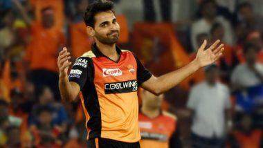 Bhuvneshwar Kumar Ruled Out of IPL 2020: सनरायझर्स हैदराबादच्या संघाला मोठा धक्का; दुखापतीमुळे भुवनेश्वर कुमार याची स्पर्धेतून माघार