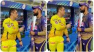 IPL 2020: आधी एमएस धोनीला केलं क्लीन बोल्ड, मगCSK कर्णधाराकडूनच KKRच्या वरुण चक्रवर्तीला मिळाल्या टिप्स, पाहाVideo