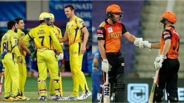 CSK vs SRH IPL 2021 Match 23: सनरायझर्स हैदराबादने नाणेफेक जिंकून बॅटिंगचा निर्णय घेतला, पहा प्लेइंग इलेव्हन