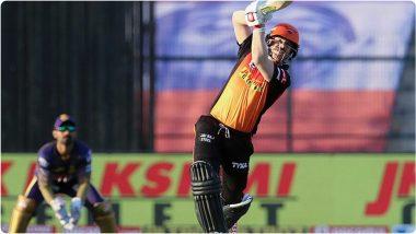 SRH vs KKR, IPL 2020: एक नंबर!डेविड वॉर्नरनेउद्ध्वस्त केला विराट कोहलीचा रेकॉर्ड,परदेशी खेळाडूंमध्येही मिळवलेपहिले स्थान