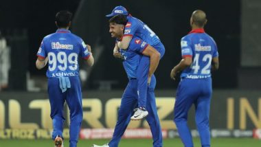 RR vs DC, IPL 2020: दिल्ली कॅपिटल्सची विजयी घोडदौड सुरूच, 46 धावांनी उडवला राजस्थान रॉयल्सचा धुव्वा