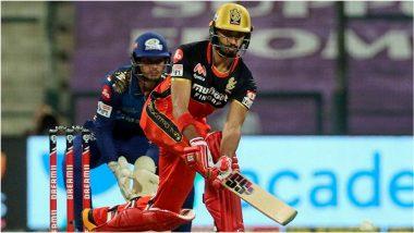MI vs RCB, IPL 2020: देवदत्त पडिक्कलच्या धडाकेबाज अर्धशतकाने आरसीबीची 164 धावांपर्यंत मजल,MI समोर 165 धावांचं आव्हान