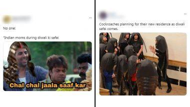 Diwali Ki Safai Funny Memes: दिवाळी 2020 अवघ्या 20 दिवसांवर; सोशल मीडियावर सणाच्या पार्श्वभूमीवर साफसफाईला कंटाळणार्यांवर जोक्स, मिम्सचा पाऊस सुरु