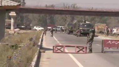 Terror Attack in Jammu and Kashmir: पुलवामा मध्ये Pampore Bypass जवळ दहशतवादी हल्ला; 2 CRPF जवान शहीद