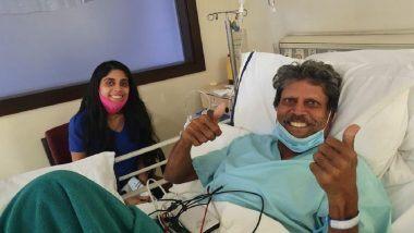 Kapil Dev Health Update: कपिल देव यांची प्रकृती स्थिर; शस्त्रक्रियेनंतर रुग्णालयातील पहिला फोटो समोर (See Photo)