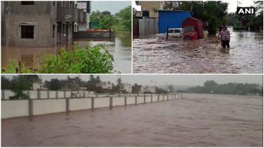 Pune Rains Update: पुणे जिल्ह्यात मुसळधार पाऊस, शरद पवार यांची बारामती तुडूंब, अनेक घरांत पाणी शिरले, इंदापूरात 40 जणांचे प्राण वाचवले