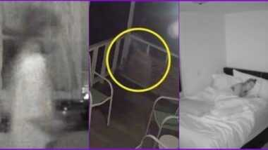 Watch Ghost Videos: तुम्ही रात्री ऐकटे झोपता का? तर 'हे' भितीदायक व्हिडिओ पाहिल्यानंतर चुकूनही होणार नाही अंधारात झोपण्याची हिम्मत