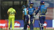 CSK vs MI, IPL 2020: सीएसके गोलंदाजांवर ईशान किशन-क्विंटन डी कॉकच्या जोडी भारी; मुंबई इंडियन्सने10 विकेटने मिळवलादणदणीत विजय