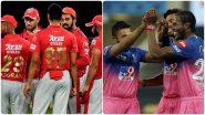 KXIP vs RR, IPL 2020: राजस्थान रॉयल्सचा टॉस जिंकून पहिले गोलंदाजीचा निर्णय,