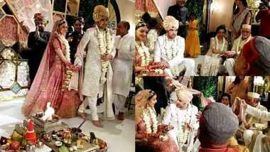 Kajal Aggarwal Wedding Photos: दाक्षिणात्य अभिनेत्री काजल अग्रवाल आणि गौतम किचलू च्या लग्नाचे फोटो व्हायरल; पहा