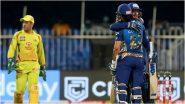 CSK IPL 2020  Playoff Chances: चेन्नई सुपर किंग्सच्या पराभवाची मालिका सुरूच, पण अद्यापही प्लेऑफ गाठण्याची संधी, पाहा कसे