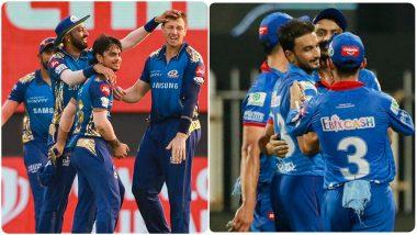 MI vs DC, IPL 2020 Qualifer 1 Live Streaming: मुंबई इंडियन्स आणि दिल्ली कॅपिटल्स यांच्यातील आयपीएलचा पहिला क्वालिफायरलाईव्ह सामना आणि स्कोर पाहा Hotstar आणि Star Network वर