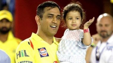 MS Dhoni's Daughter Ziva Gets Rape Threats: KKR कडून पराभूत झाल्यानंतर CSK कर्णधार एमएस धोनीच्या 5 वर्षाची मुलीगी झिवाला बलात्काराची धमकी