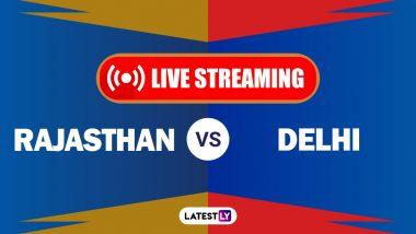 RR vs DC IPL 2021 Match 7 Live Streaming: राजस्थान रॉयल्स आणि दिल्ली कॅपिटल्स यांच्यातील आयपीएल सामना लाईव्ह कधी, व कसा पाहणार? वाचा सविस्तर
