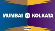 MI vs KKR IPL 201 Match 34: Eoin Morgan चा टॉस जिंकून क्षेत्ररक्षणाचा निर्णय; Rohit Sharma परतला तर हार्दिक सलग दुसऱ्या सामन्यातून आऊट