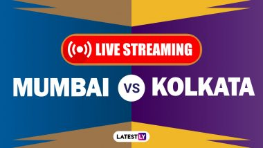 MI vs KKR, IPL 2020 Live Streaming: मुंबई इंडियन्स आणि कोलकाता नाईट रायडर्सयांच्यातील आयपीएल लाईव्ह सामना आणि स्कोर पाहा Hotstar आणि Star Network वर