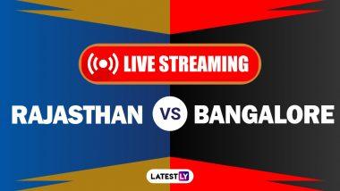 RR vs RCB, IPL 2020 Live Streaming: राजस्थान रॉयल्स आणि रॉयल चॅलेंजर्स बेंगलोर यांच्यातीलआयपीएल लाईव्ह सामना आणि स्कोर पाहा Hotstar आणि Star Network वर