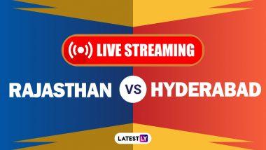 RR vs SRH, IPL 2020 Live Streaming: राजस्थान रॉयल्स आणि सनरायजर्स हैदराबाद यांच्यातीलआयपीएल लाईव्ह सामना आणि स्कोर पाहा Hotstar आणि Star Network वर