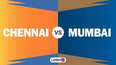CSK vs MI IPL Head-to-Head: चेन्नई सुपर किंग्स आणि मुंबई इंडियन्स यांच्यात आज रंगणार महामुकाबला; जाणून घ्या आकडेवारी आणि रेकॉर्ड