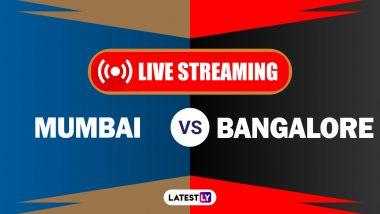 MI vs RCB, IPL 2020 Live Streaming: मुंबई इंडियन्स आणिरॉयल चॅलेंजर्स बेंगलोरयांच्यातील आयपीएल लाईव्ह सामना आणि स्कोर पाहा Hotstar आणि Star Network वर
