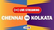 CSK vs KKR, IPL 2020 Live Streaming: चेन्नई सुपर किंग्स आणि कोलकातानाईट रायडर्स यांच्यातील आयपीएल लाईव्ह सामना आणि स्कोर पाहा Hotstar आणि Star Network वर
