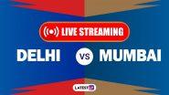 DC vs MI, IPL 2020 Live Streaming: दिल्ली कॅपिटल्स आणि मुंबई इंडियन्स यांच्यातील आयपीएल लाईव्ह सामना आणि स्कोर पाहा Hotstar आणि Star Network वर