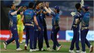 IPL 2020 PlayOffs: कोलकाता नाईट रायडर्सच्या पराभवानेमुंबई इंडियन्सला मिळालं प्ले ऑफचं तिकीट,हे 3 संघही आहेत दावेदार