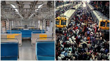 Mumbai local: मुबई लोकलमधून प्रवासाठी सर्वांनाच मिळणार परवाणगी!  रेल्वे आणि राज्य सरकार यांच्यात  आज पार पडणार बैठक