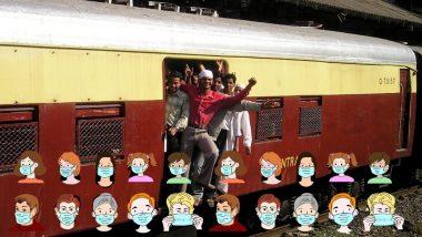 Face Mask Fine in Maharashtra: विनामास्क प्रवास केल्यास भरावा लागणार 200 रुपये दंड, रेल्वे पोलिसांना अधिकार