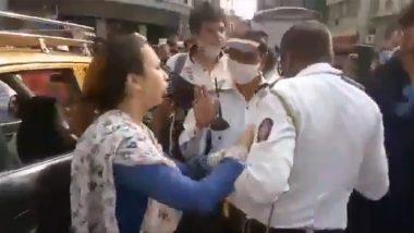 Mumbai Traffic Police Beaten By Women: मुंबई येथे वाहतूक पोलिसाला महिलेकडून बेदम मारहाण; व्हिडिओ व्हायरल