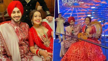 Neha Kakkar Sings Live for Husband Rohanpreet Singh Video: नेहा कक्कड़ आणि रोहनप्रीत सिंह यांच्या लग्नात सजली सूरांची मैफिल, रोमँटिक गाणे गाताना दिसले हे कपल