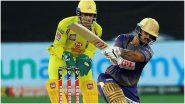 IPL 2021, CSK vs KKR: दिनेश कार्तिक-नितीश राणाची शानदार फलंदाजी, कोलकाताची 171 धावांपर्यंत मजल