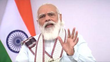 Shiv Sena On  PM Narendra Modi Speech: 'पंतप्रधान नरेंद्र मोदी यांची शुभ्र दाढी, तेजस्वी चेहरा या तेजानेच देशातील संकटांचा अंधार दूर होईल'