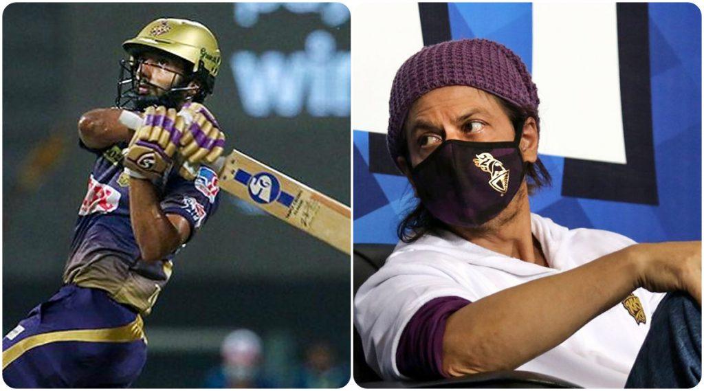 IPL 2020: 'शाहरुख भाई, तुमचा सर्वात मोठा फॅन.' जेव्हा KKRच्या दिनेश कार्तिकने राहुल त्रिपाठीची किंग खानशी करून दिली ओळख (Watch Video)