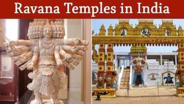 Dussehra 2020 Special: विजयादशमी दिवशी भारतातील 'या' प्रसिद्ध मंदिरांमध्ये होते रावणाची पूजा!