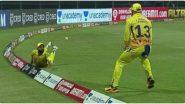 CSK Vs RR, IPL 2021: राजस्थान रॉयल्स विरुद्ध सामन्यापूर्वी चेन्नई सुपर किंग्जच्या खेळाडूंनी मैदानात केला जबरदस्त सराव, पाहा व्हिडिओ
