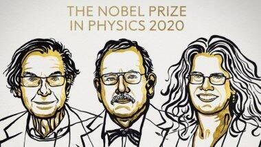 Nobel Prize in Physics 2020 Winners: ब्लॅक होलवरील शोधाबद्दल Roger Penrose, Reinhard Genzel आणि Andrea Ghez यांना यंदाचा भौतिकशास्त्राचा नोबेल पुरस्कार जाहीर