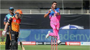 SRH vs RR, IPL 2020: मनीष पांडेचे धडाकेबाज अर्धशतक, हैराबाद समोर विजयासाठी 159 धावांचेलक्ष्य