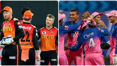 PBKS Vs RR IPL 2021 Match 40 Live Streaming: सनरायझर्स हैदराबाद आणि राजस्थान रॉयल्स यांच्यात आज दुबई आंतरराष्ट्रीय मैदानात रंगणार सामना, Star Sports Network वर पाहता येणार लाईव्ह प्रक्षेपण