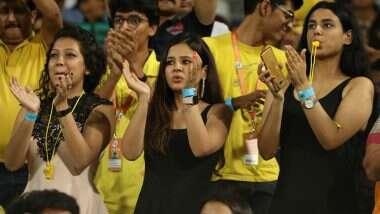 IPL 2020: चेन्नई सुपर किंग्ज प्ले-ऑफमधून बाहेर पडल्यानंतर साक्षी धोनी झाली भावूक; पती महेंद्र सिंह धोनी याच्यासाठी ट्विटरवर केली 'अशी' पोस्ट