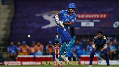MI vs DC, IPL 2020 Final: 'गब्बर' मुंबईविरुद्ध पुन्हा अपयशी, शिखर धवनने 15 धावांवर बाद होताच गमावली ऑरेंज कॅप पटकावण्याची संधी