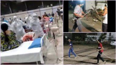 Garba With Social Distancing in Navratri 2020: यंदाच्या नवरात्रीवर कोरोना विषाणूचे सावट; सामाजिक अंतराचे भान ठेऊन अशा हटके पद्धतीने साजरा होत आहे गरबा व दांडियाचा कार्यक्रम (Watch Video)